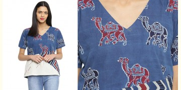 Ireene ✥ Block Printed . Top ✥ 19