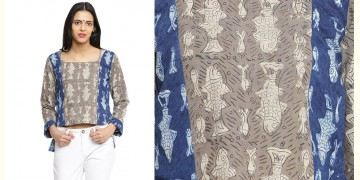 Ireene ✥ Block Printed . Top ✥ 23