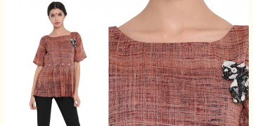 Ireene ✥ Block Printed . Top ✥ 25