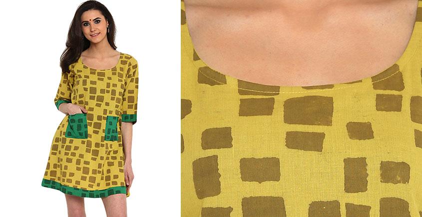 Ireene ✥ Block Printed . Dress ✥ 9