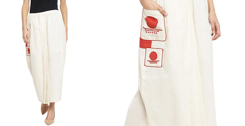 बिंदी ⚫ Lungi skirt with bindi patch pocket ⚫ 9
