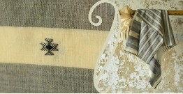 Treasures of travel ~ Handwoven Cotton stole { 2 }