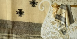Treasures of travel ~ Handwoven Cotton stole { 9 }