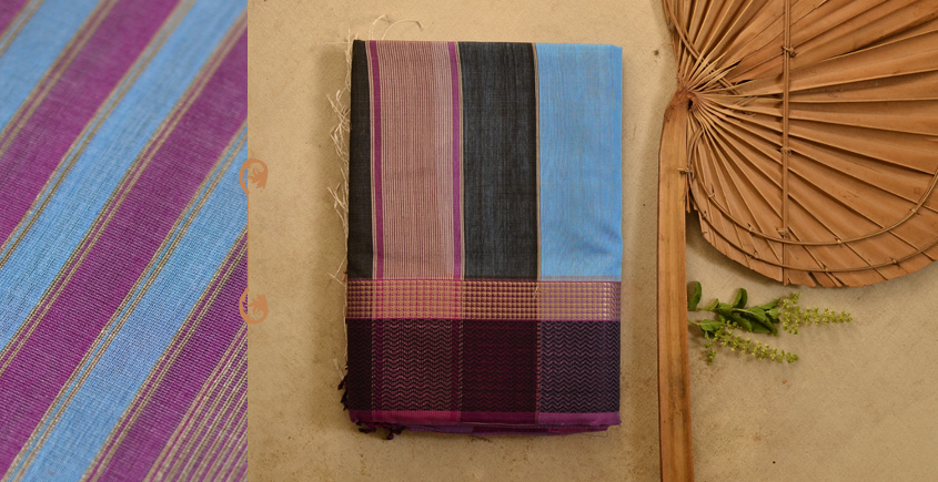 बीड़ा ❧ Maheshwari Silk Saree ❧ 17