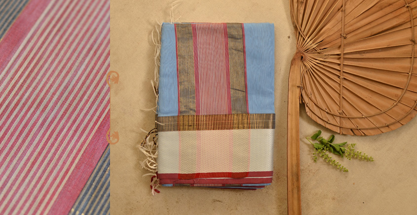 बीड़ा ❧ Maheshwari Silk Saree ❧ 19