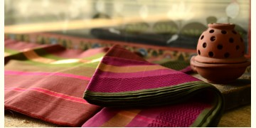 Maheshwari saree ~ Colors of solemnity