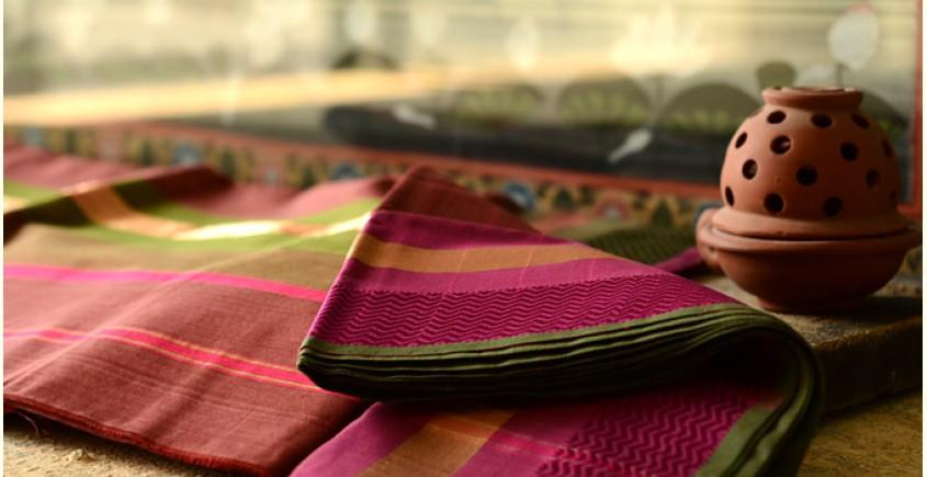 Maheshwari saree ~ Colors of solemnity