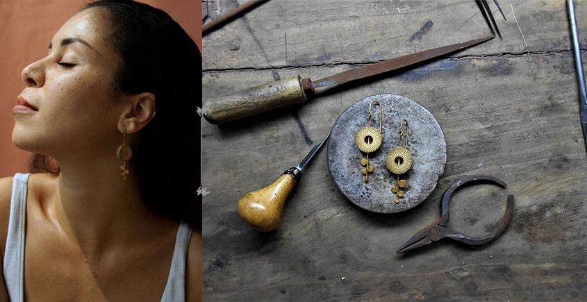 Baka ✺ Rhea Gold . Earring { 6 }