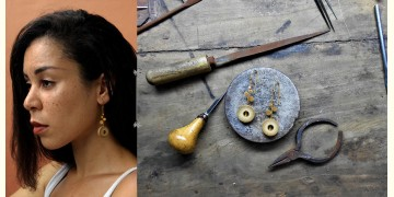 Baka ✺ Rhea Gold . Earring { 7 }