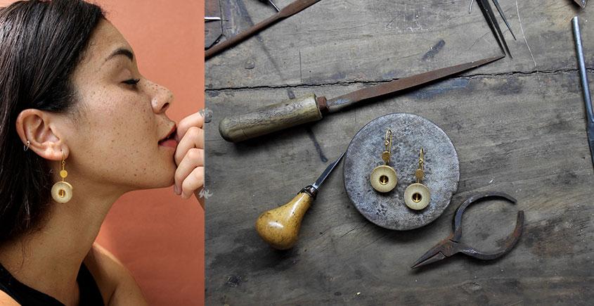 Baka ✺ Rhea Gold . Earring { 9 }