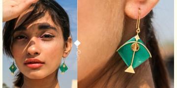 Flying Kites ♦ Onyx Stone . Kite Earrings ♦ 15