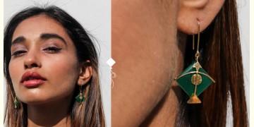 Flying Kites ♦ Onyx Stone . Kite Earrings ♦ 17