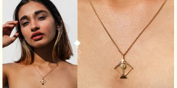 Flying Kites ♦ Citrine . Kite Pendant ♦ 23 { without chain }