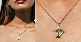 Flying Kites ♦ Moonstone . Kite Pendant ♦ 21 { without chain }
