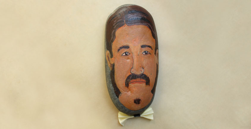 Quirky Taps ♠ Painted Pebbles ~ 14