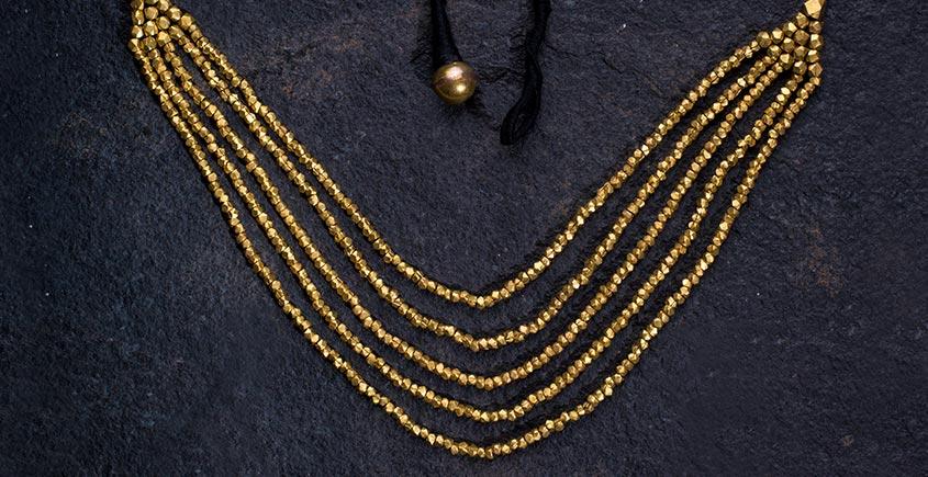 प्रीतम ✤ Brass Jewellery ✤ Necklace { 2 }
