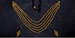 प्रीतम ✤ Brass Jewellery ✤ Necklace with Earring { 30 }