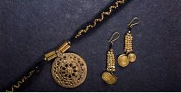 प्रीतम ✤ Brass Jewellery ✤ Necklace with Earring { 33 }