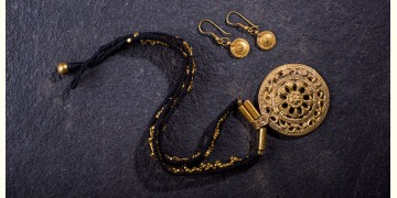 प्रीतम ✤ Brass Jewellery ✤ Necklace with Earring { 34 }