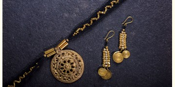 प्रीतम ✤ Brass Jewellery ✤ Necklace with Earring { 33 }