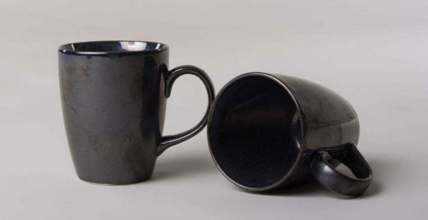 Khurja Pottery ❤ Coffee Mug ❤ 16 ( set of 2 )