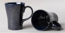 Khurja Pottery ❤ Coffe Mug ❤ 17 ( set of 2 )