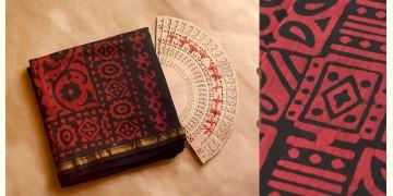 Chandni ✲ Handwoven Chanderi . Batik Saree ✲ 11