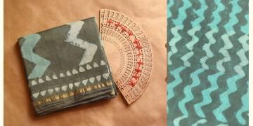 Chandni ✲ Handwoven Chanderi . Batik Saree ✲ 13