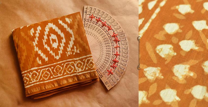 Chandni ✲ Handwoven Chanderi . Batik Saree ✲ 1