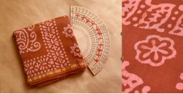Chandni ✲ Handwoven Chanderi . Batik Saree ✲ 17