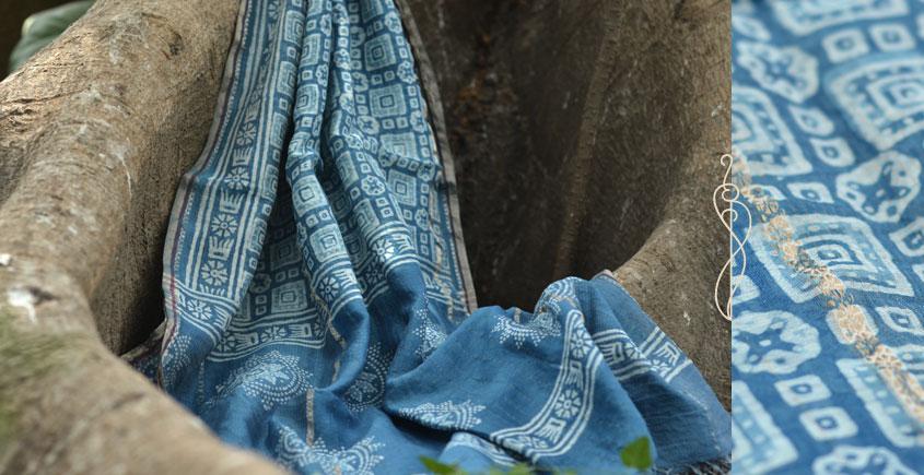 आबशार . Aabshaar ☘ Vegetable Color Chanderi Dupatta { 15 }