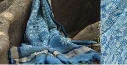 आबशार . Aabshaar ☘ Vegetable Color Chanderi Dupatta { 16 }