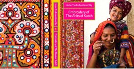Book ~ Under the embroidered sky: Embroidery of The Ahirs of Kutch