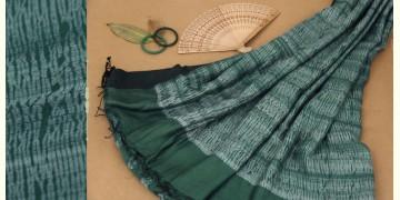 राधा | Radha ✥ Shibori Handwoven Saree ✥ 5