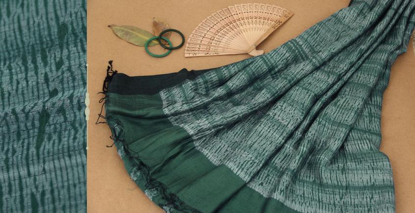 राधा   Radha ✥ Shibori Handwoven Saree ✥ 5