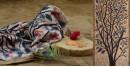 Vrindavan Ke Rang ✥ Batic Maheshwari Stole ✥ A