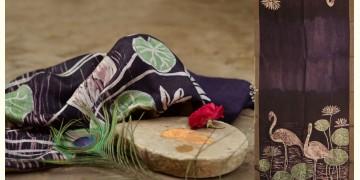 Vrindavan Ke Rang ✥ Batic Maheshwari Stole ✥ B