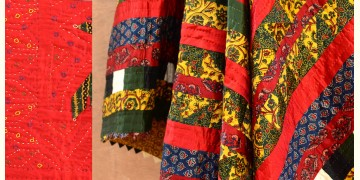 Quilt - Mulbary Silk - Embroidery (Double bed)
