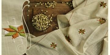सूफियाना ~ Handloom Cotton . Embroidered dupatta { 9 }