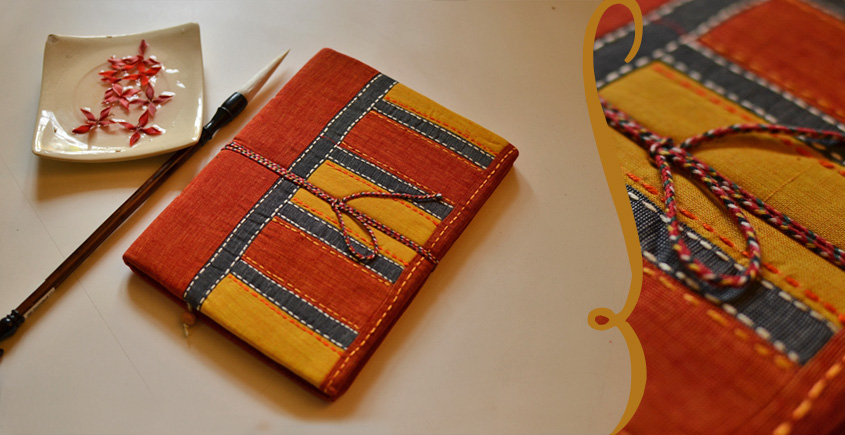 भाव ☙  Handmade Paper Diary ☙ 2 { 6 X 8 in }