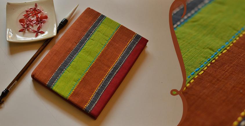 भाव ☙ Handmade Paper Diary ☙ 3 { 6 X 8 in }