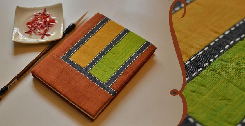भाव ☙  Handmade Paper Diary ☙ 4 { 6 X 8 in }
