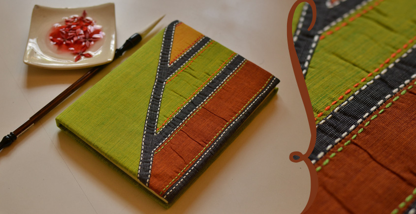 भाव ☙ Handmade Paper Diary ☙ 10 { 6 X 8 in }