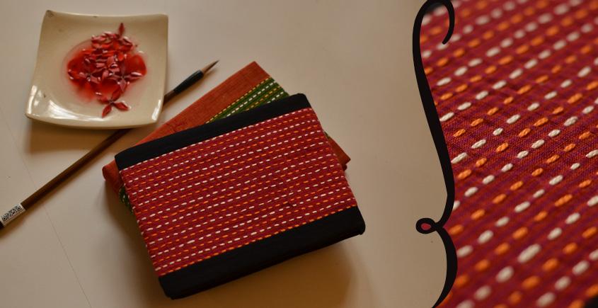 भाव ☙ Handmade Paper Diary ☙ 13 { 6 X 4.5 in }