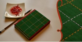 भाव ☙ Handmade Paper Diary ☙ 15 { 6 X 4.5 in }