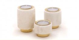 Tealight Pillars {Set of 3} ~ 7