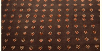 Ajrakh . Natural Color Cotton Fabric ~ 25 { Per meter }