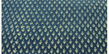 Ajrakh . Natural Color Cotton Fabric ~ 27 { Per meter }