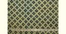 Ajrakh . Natural Color Cotton Fabric ~ 29 { Per meter }