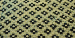 Ajrakh . Natural Color Cotton Fabric ~ 29 { Per meter }